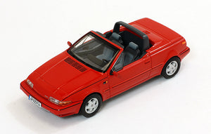 PRD447 - VOLVO 480 TURBO CABRIOLET 1990 RED