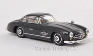 RIK38594 - MERCEDES 300SL (W198) BLACK