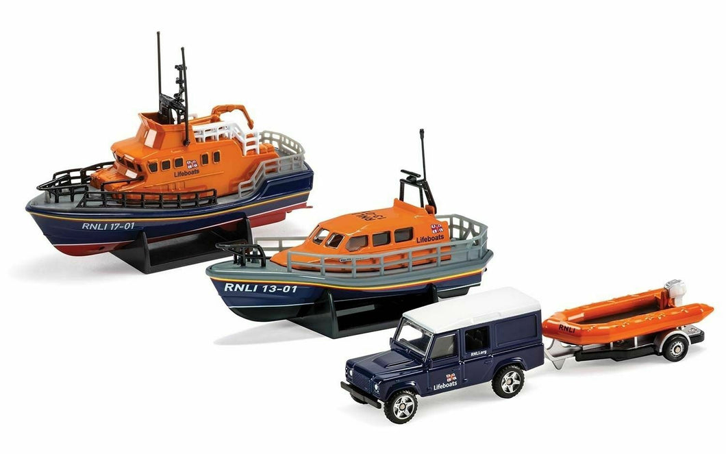 RNLI0001 - RNLI GIFT SET - SHANNON LIFEBOAT, SEVERN LIFEBOAT AND FLOOD RESCUE TEAM