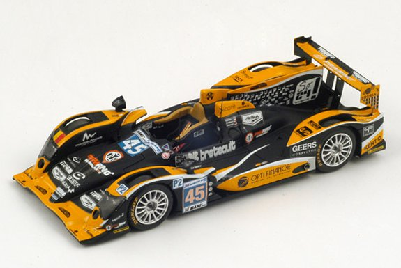 S3724 - ORECA 03 - NISSAN #45 BOUTSEN GINION RACING LE MANS 2012 BRIERE-NAKANO-PETERSEN