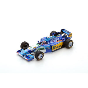 S4775 - BENETTON B195 #1 WINNER MONACO GP 1995 MICHAEL SCHUMACHER