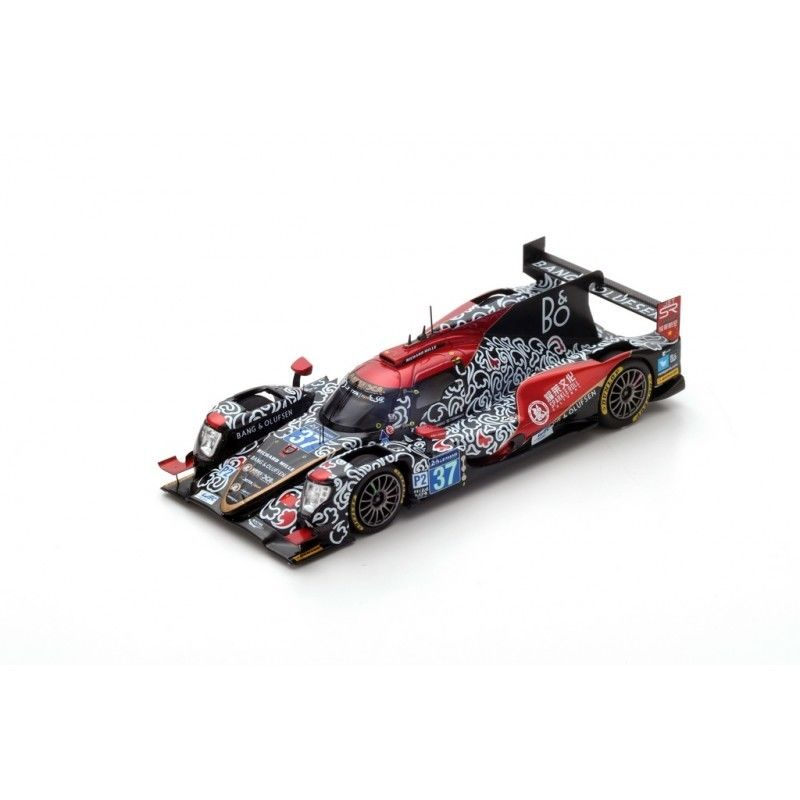 S5823 - ORECA 07 GIBSON #37 JACKIE CHAN DC RACING 3RD LE MANS 2017 D.CHENG-T.GOMMENDY-A.BRUNDLE