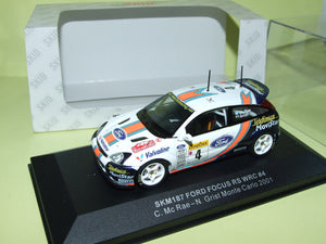 SKM187 - FORD FOCUS RS WRC #4 MONTE CARLO 2000