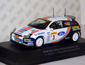 SKM188 - FORD FOCUS RS WRC #9