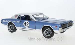 SUN1584 - 1967 MERCURY COUGAR RACING #42 2011 NORTHWOODS SHELBY CLUB