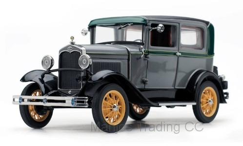 SUN6106 - 1931 FORD MODEL A TUDOR GRAY