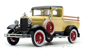 SUN6114 - 1931 FORD MODEL A PICKUP YELLOW