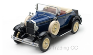 SUN6125 - 1931 FORD MODEL A ROADSTER BLUE