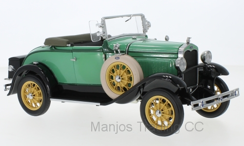 SUN6127 - 1931 FORD MODEL A ROASTER GREEN