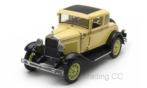 SUN6135 - 1931 FORD MODEL A COUPE YELLOW