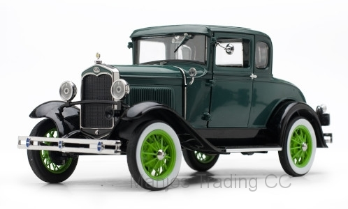 SUN6136 - 1931 FORD MODLE A COUPE 2TONE GREEN