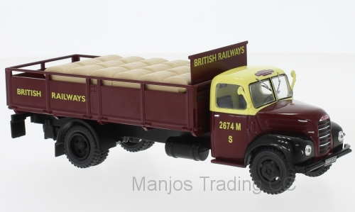TRU018 - FORD THAMES ET6 BEIGE/RED BRITISH RAIL