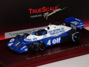 TSM104311 - 1977 TYRRELL P34 #4 (1977 LATER VERSION) MOSPORT 2ND PLACE