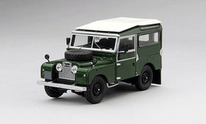"TSM124378 - 1957 LAND ROVER SERIES I 88"" STATION WAGON GREEN WITH WHITE ROOF"