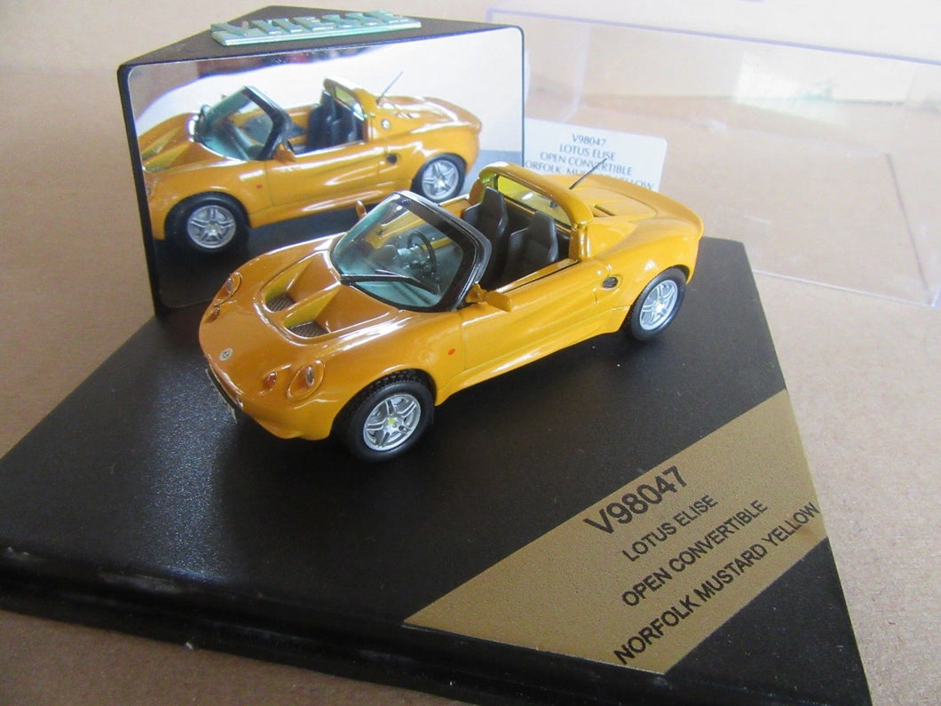 V98047 - LOTUS ELISE OPEN CONVER NORFOLK MUSTARD