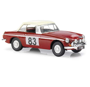 VA10707 - MGB - MONTE CARLO RALLY (MORLEY BROTHERS) 1964 OUTRIGHT WINNER GT CLASS