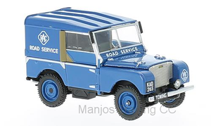 "LAND ROVER SERIES 1 80"" RAC ROAD SERVICE VEHICLE BLUE"