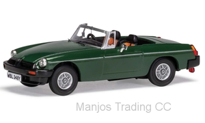 VA13005 - MGB V8 - ''DON HAYTER'S CAR' GREEN