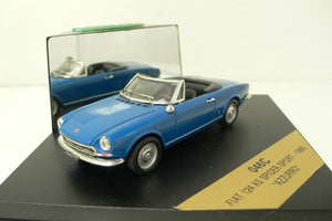 VIT046 C - FIAT 124 AS SPIDER SPORT BLUE