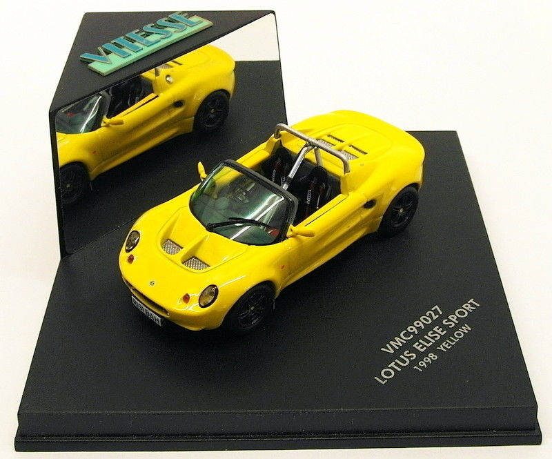 VMC99027 - LOTUS ELISE SPORT 1998 YELLOW