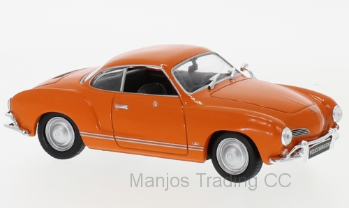 WB064 - KARMANN GHIA ORANGE 1962