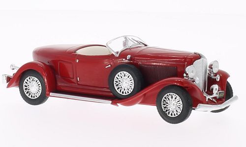 WB069 - 1933 AUBURN BOAT TAIL ROADSTER RED