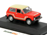 WB075 - 1981 LADA NIVA CALIFORNIA RED WITH BEIGE ROOF