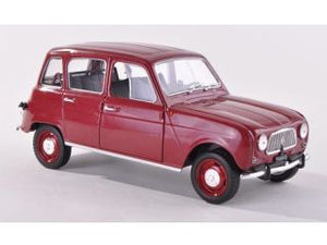 WB124001 - 1962 RENAULT 4L RED