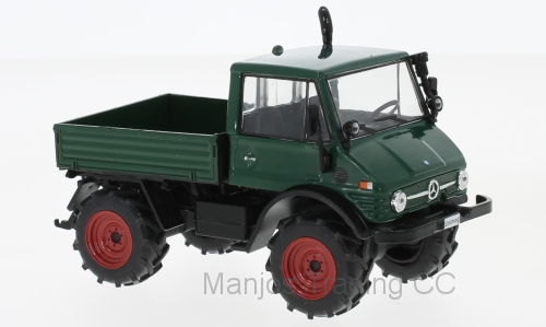 WB197 - MERCEDES UNIMOG 406 DARK GREEN