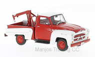 WB233 - CHEV 3100 TOW TRUCK RED/WHITE