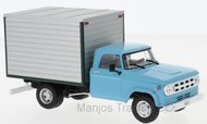 WB275T - DODGE D-400 BOX VAN 1971 BLUE/GREY