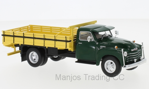 WB276T - CHEVROLET 6400 1949 GREEN AND YELLOW