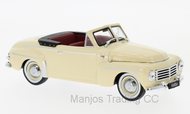 WB285 - VOLVO PV 445 CONVERTIBLE 1953 BEIGE