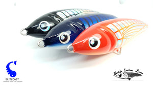 Nashy Custom 120mm 50g Stickbait Sinking / Coulant