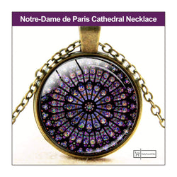 Notre-Dame de Paris Cathedral Necklace