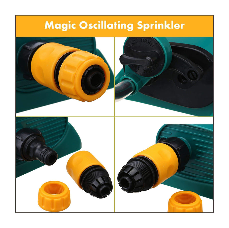 Magic Oscillating Sprinkler