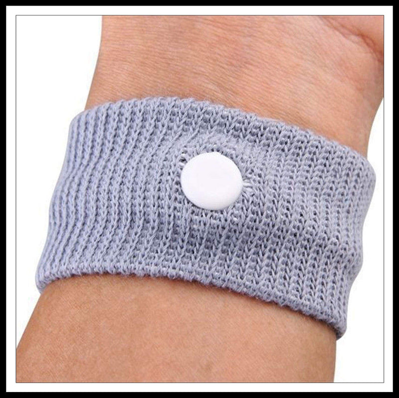 Anti-Nausea + Motion Sickness Bracelet (1 Pair)