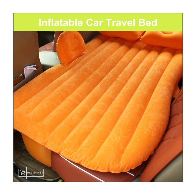 Inflatable Car Travel Bed