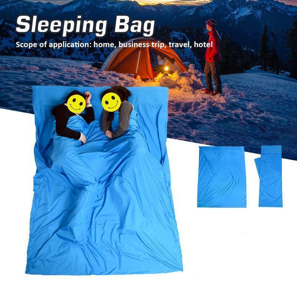 Dirt Resistant Outdoors Sleeping Bag For 2