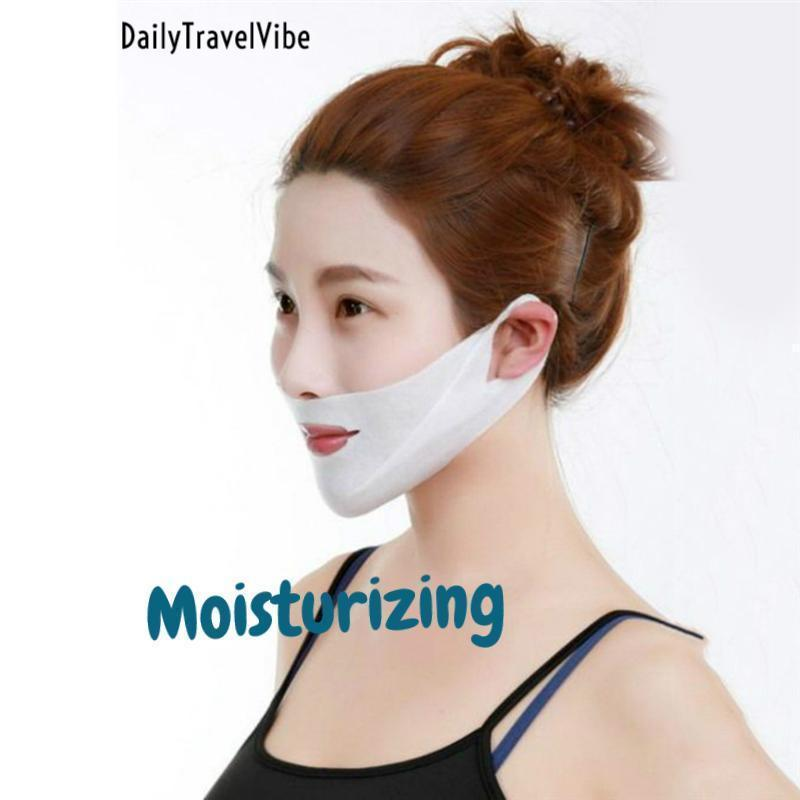 2x V-Shaped Slimming Mask Set