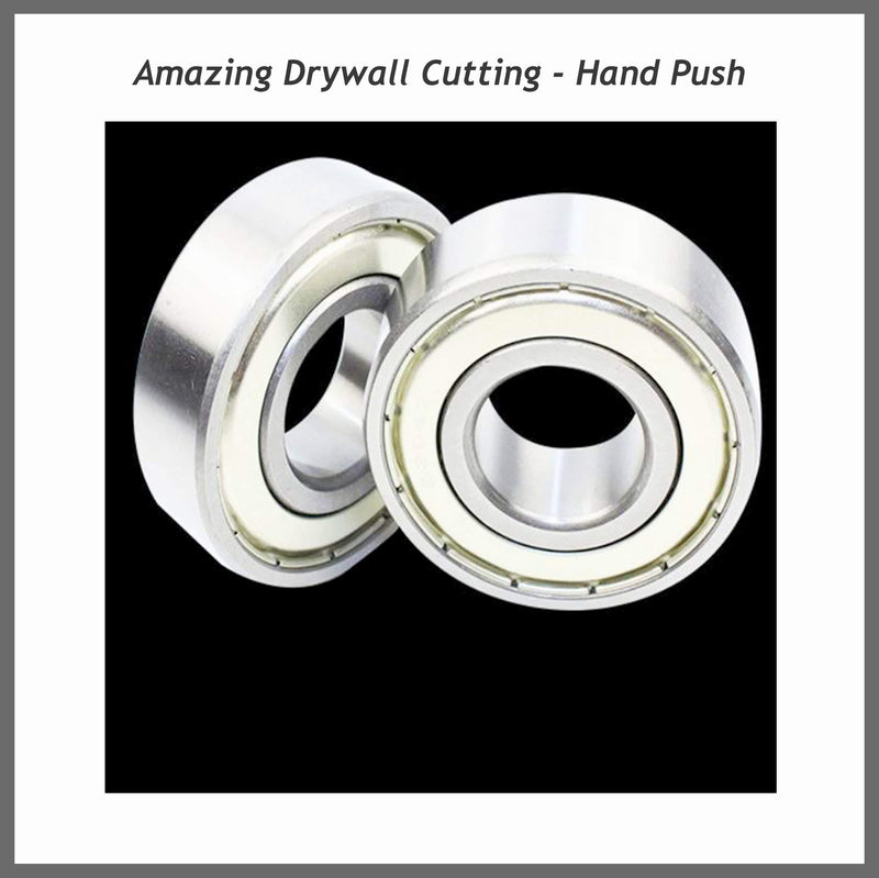 Amazing Drywall Cutting - Hand Push