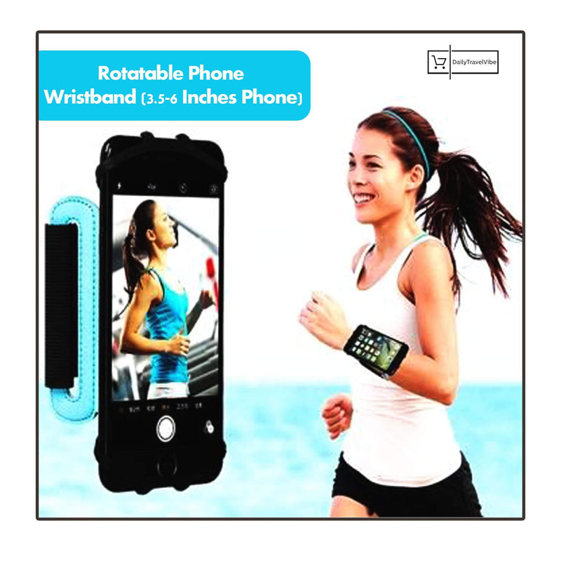 Rotatable Phone Wristband (3.5-6 Inches Phone)