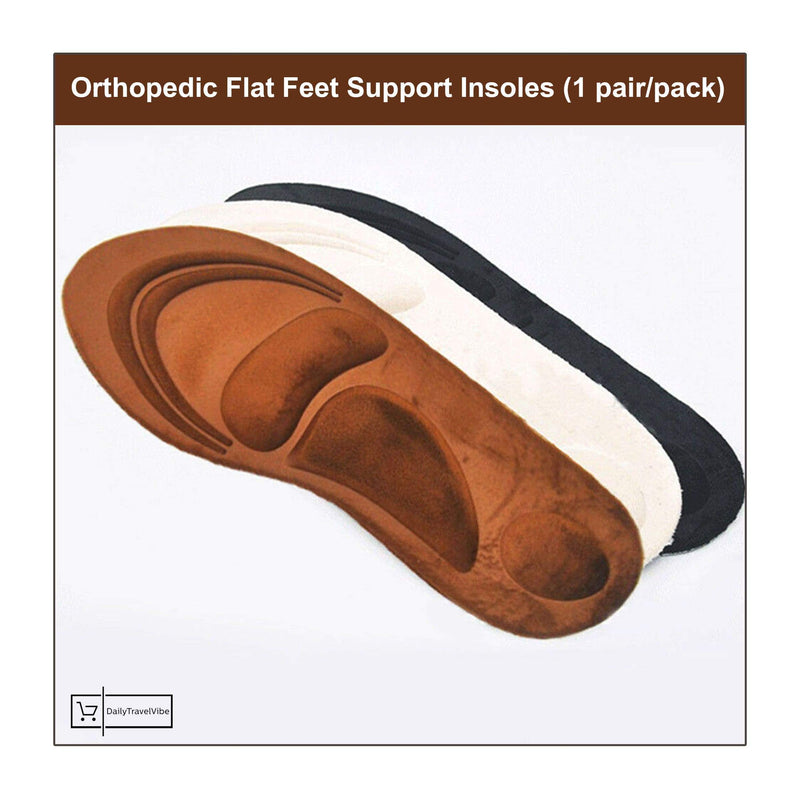 Orthopedic Flat Feet Support Insoles (1 pair/pack)