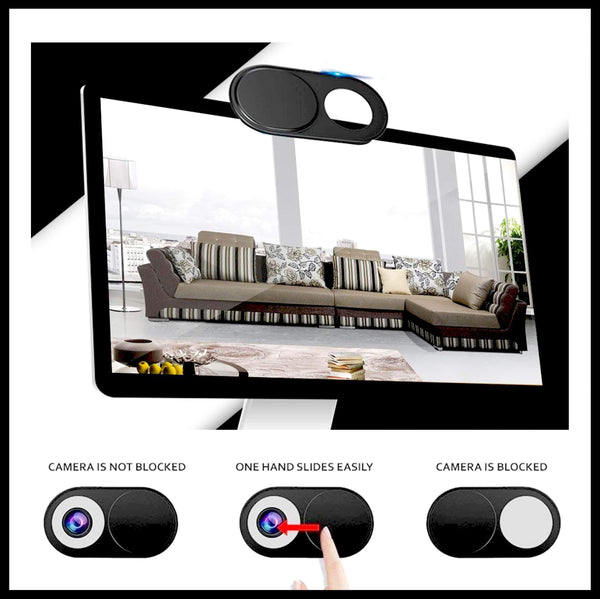 WebCam Cover Shutter (6 Packs/Set)