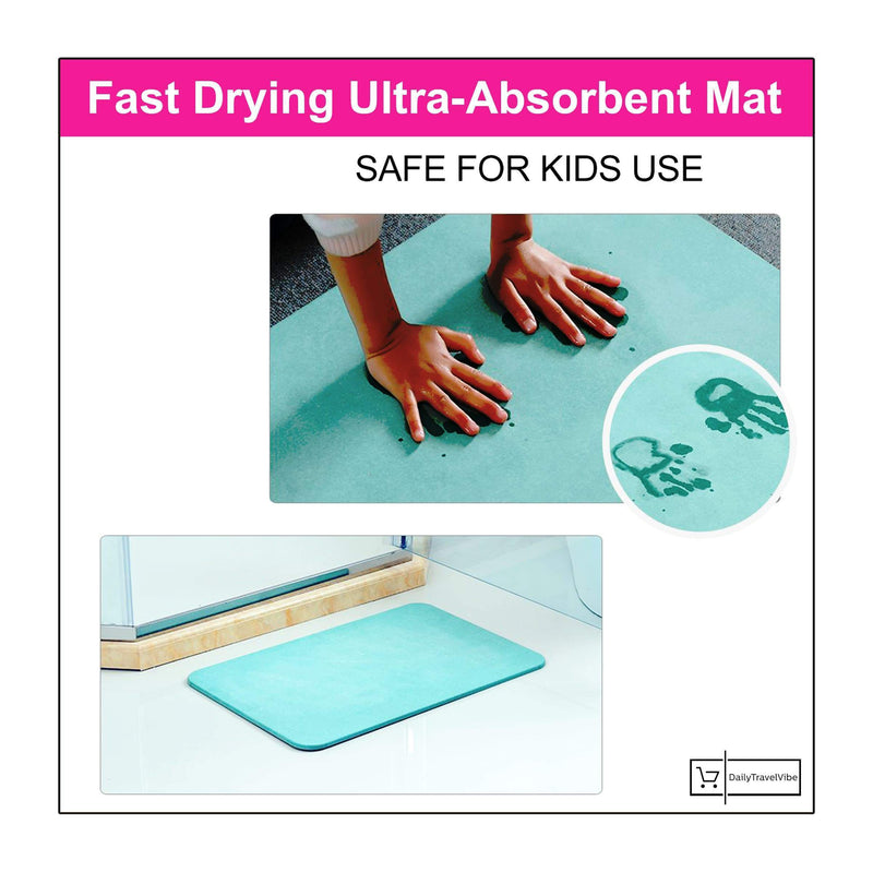 Fast Drying Ultra-Absorbent Mat
