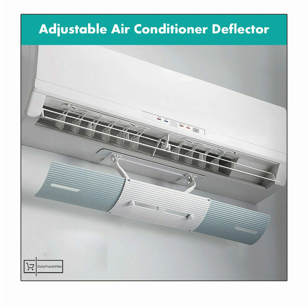 2x Adjustable Air Conditioner Deflector