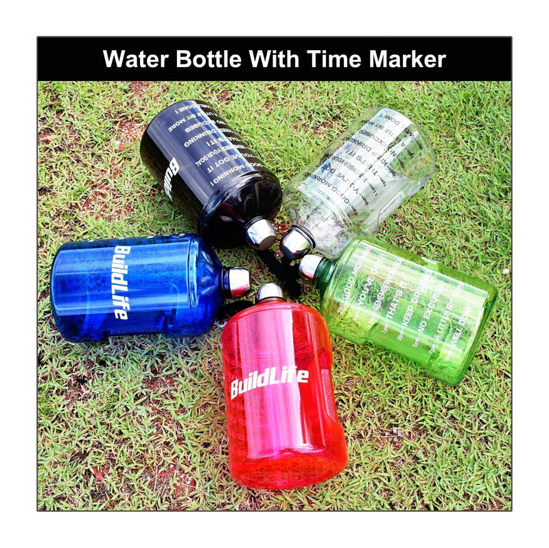Water Bottle With Time Marker