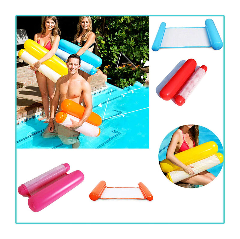 Inflatable Water Hammock Floating Bed