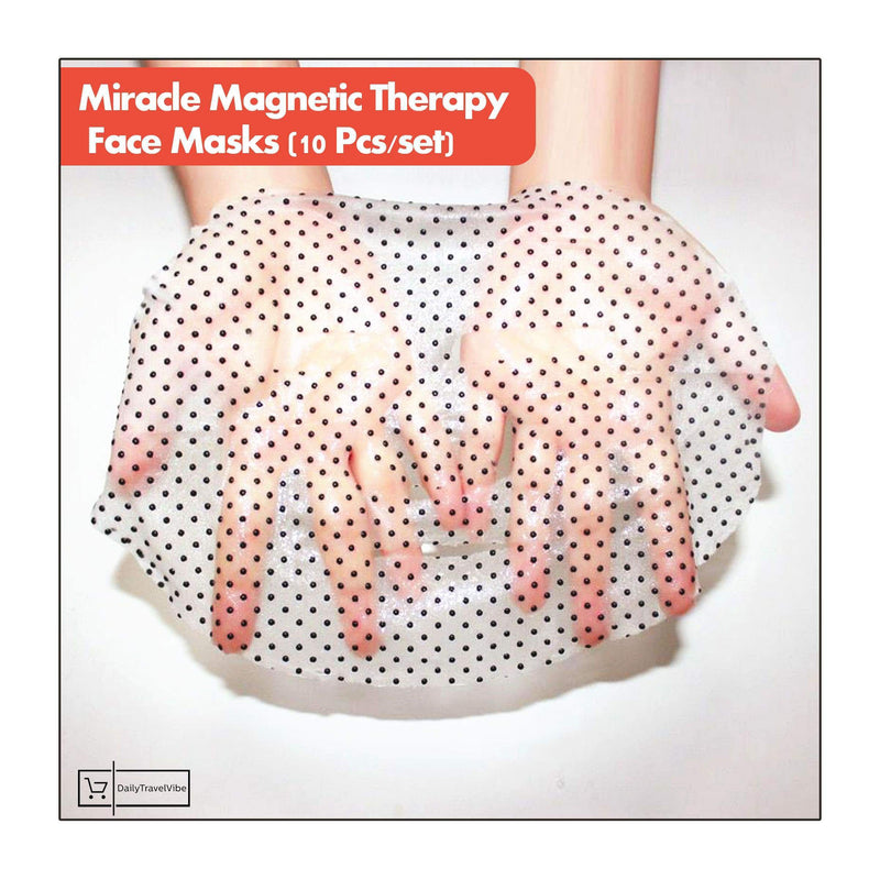 Miracle Magnetic Therapy Face Masks (10 Pcs/set)