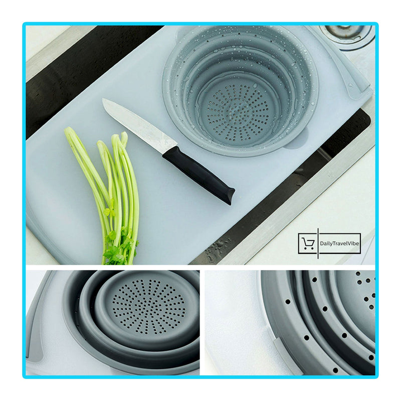 3 in 1 Multi-Functional Chopping Board